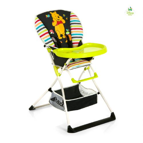 Hauck Mac Baby Deluxe Highchair (Pooh Tidy Time)
